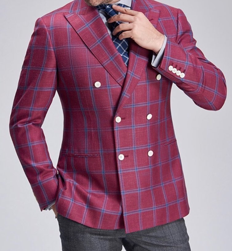 red-checkered-blazer