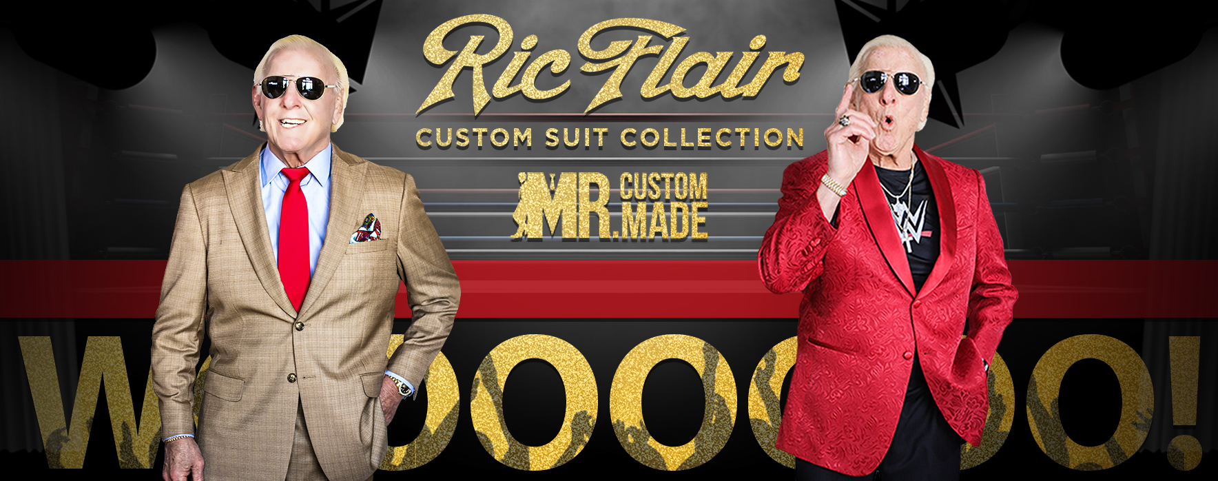 96ec185dffa The Ric Flair Collection. Custom Made Suits ...